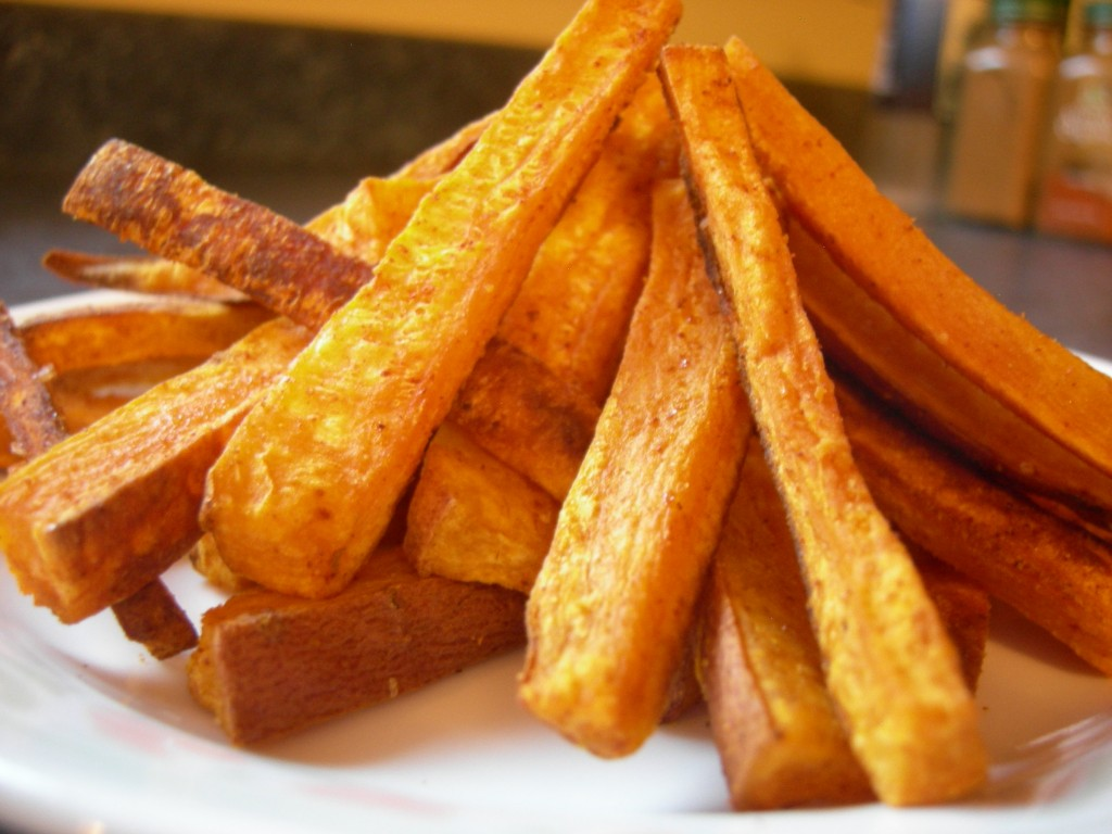 Healthy Recipe-Baked Sweet Potato Fries | smallgroupfitclub